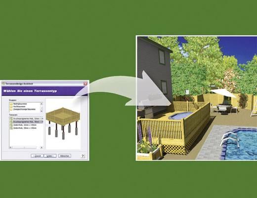 franzis verlag 3d gartenplaner pro. Black Bedroom Furniture Sets. Home Design Ideas