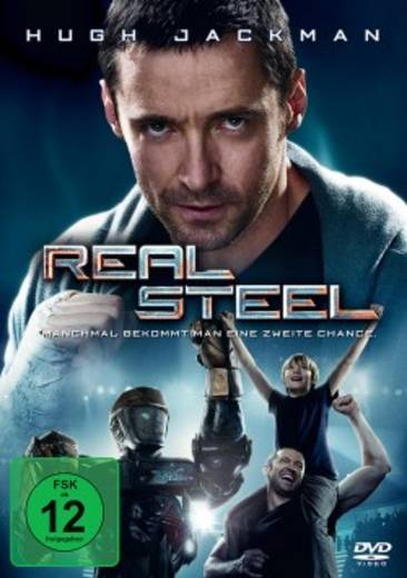 DVD Real Steel Stahlharte Gegner FSK: 12