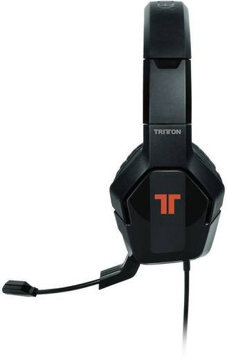 Gaming Headset USB schnurgebunden, Stereo Tritton Trigger Over Ear Schwarz