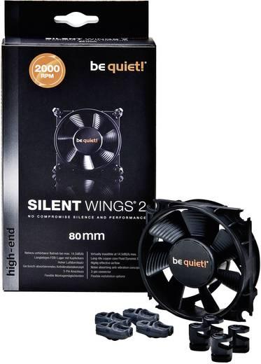 PC-Gehäuse-Lüfter BeQuiet Silent Wings 2 80 mm Schwarz (B x H x T) 80 x 80 x 25 mm