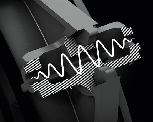 BeQuiet Silent Wings 2 PC-Gehäuse-Lüfter Schwarz (B x H x T) 80 x 80 x 25 mm