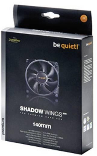 BeQuiet Shadow Wings Mid-Speed PC-Gehäuse-Lüfter Schwarz (B x H x T) 140 x 140 x 25 mm