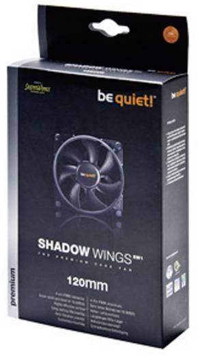 PC-Gehäuse-Lüfter BeQuiet Shadow Wings SW1 120 mm Mid-Speed Schwarz (B x H x T) 120 x 120 x 25 mm