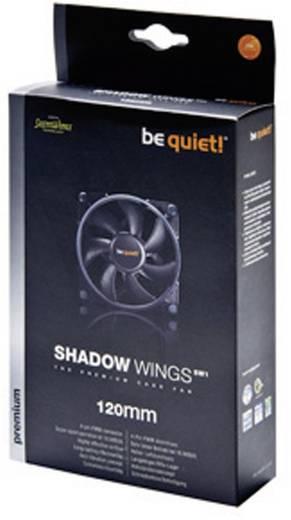 PC-Gehäuse-Lüfter BeQuiet Shadow Wings SW1 120 mm Low-Speed Schwarz (B x H x T) 120 x 120 x 25 mm