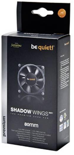 PC-Gehäuse-Lüfter BeQuiet Shadow Wings SW1 80 mm Low-Speed Schwarz (B x H x T) 80 x 80 x 25 mm