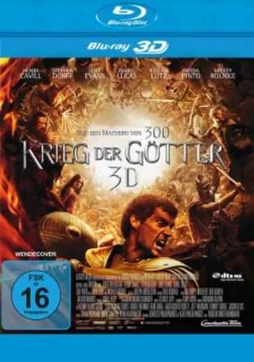 blu-ray 3D Krieg der Götter FSK: 16