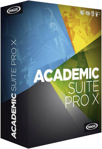 Magix Academic Suite Pro X