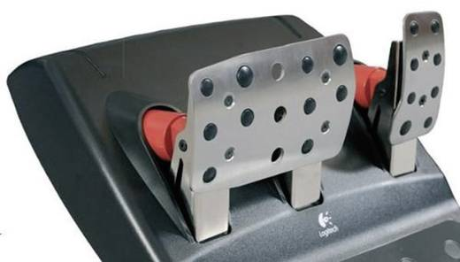 Bremspedal-Platte Playseats G25/G27 Bremspedal-Platte universell Silber