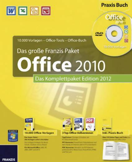 Das große Franzis Paket Office 2010