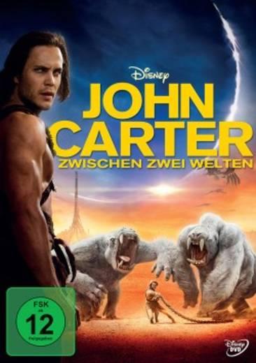 DVD John Carter Zwischen zwei Welten FSK: 12