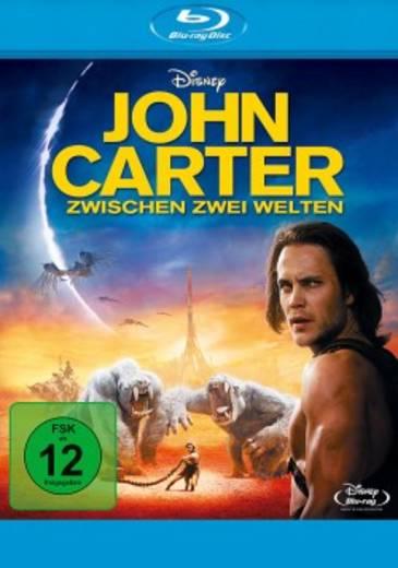 blu-ray John Carter Zwischen zwei Welten FSK: 12