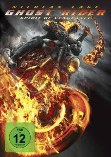 DVD Ghost Rider: Spirit of Vengeance FSK: 12