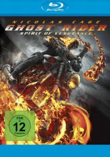 blu-ray Ghost Rider: Spirit of Vengeance FSK: 12