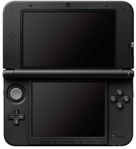 nintendo 3ds xl mobile spielkonsole in rot schwarz kaufen. Black Bedroom Furniture Sets. Home Design Ideas
