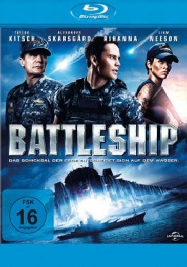 blu-ray Battleship FSK: 16