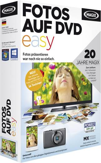 magix fotos auf dvd easy kaufen. Black Bedroom Furniture Sets. Home Design Ideas