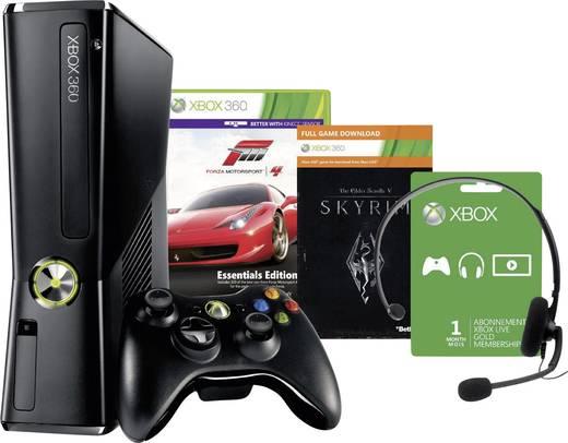 Xbox 360 250 GB + Forza Motorsport 4 + Skyrim Bundle