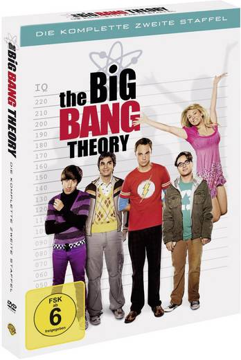 4er Box DVD The Big Bang Theory - Die komplette 2. Staffel FSK: 6