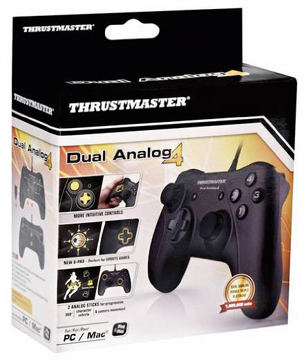 Thrustmaster Dual Analog 4 Gamepad PC Schwarz