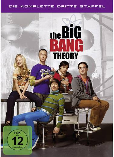 3er Box DVD The Big Bang Theory - Die komplette 3. Staffel FSK: 12