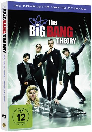 3er Box DVD The Big Bang Theory - Die komplette 4. Staffel FSK: 12