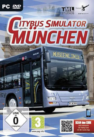 pc city bus simulator m nchen kaufen. Black Bedroom Furniture Sets. Home Design Ideas
