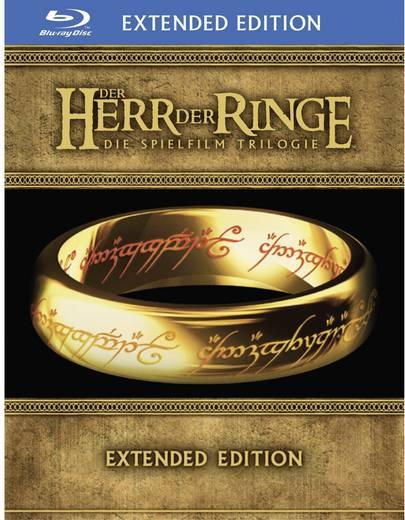 blu-ray Der Herr der Ringe - Special Extended Editions Trilogie (15 Discs) FSK: 16