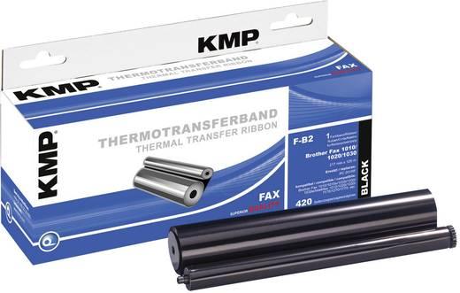KMP Thermo-Transfer-Rolle Fax ersetzt Brother PC-200RF Kompatibel 420 Seiten Schwarz 1 Rolle(n) F-B2 71000,0002