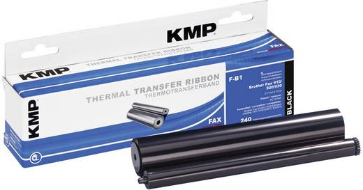 KMP Thermo-Transfer-Rolle Fax Brother PC-300RF Kompatibel 240 Seiten Schwarz 1 Rolle(n) F-B1 71000,0001