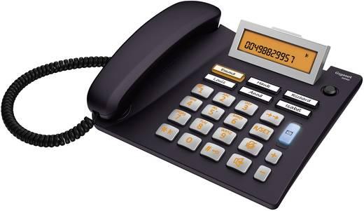 Schnurgebundenes Seniorentelefon Gigaset 5040 Freisprechen Beleuchtetes Display Schwarz, Silber