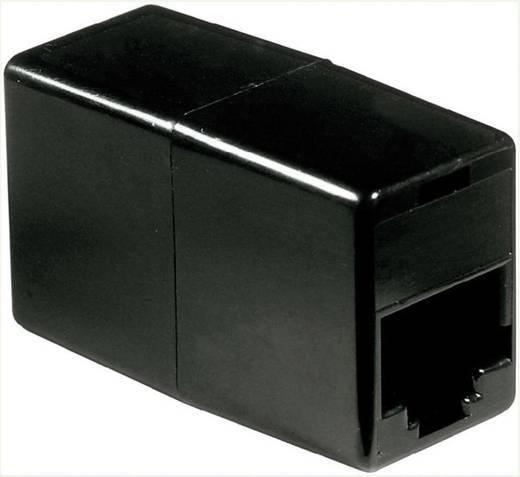 Western Adapter [1x RJ45-Buchse 8p4c - 1x RJ45-Buchse 8p4c] 0 m Schwarz