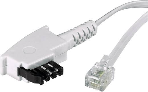 Telefon (analog) Anschlusskabel [1x TAE-F-Stecker - 1x RJ11-Stecker 6p4c] 3 m Weiß