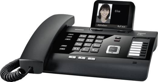 Gigaset DL500 A Schnurgebundenes Telefon, analog Schwarz