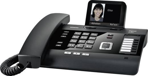 Schnurgebundenes Telefon, analog Gigaset DL500 A Schwarz