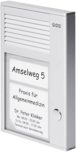 Türsprechanlage Kabelgebunden Komplett-Set Auerswald 90634 1 Familienhaus Silber