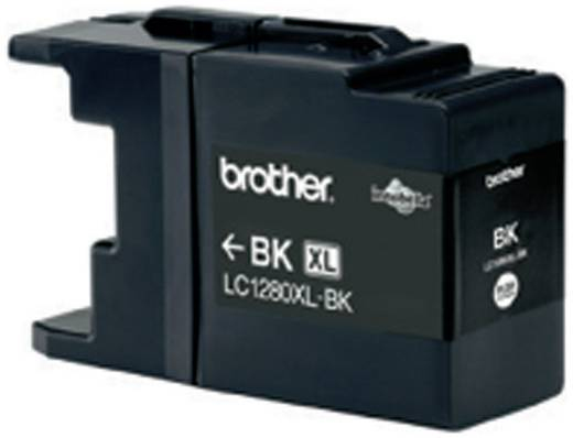Brother Tinte LC-1280XLBK Original Schwarz LC1280XLBK