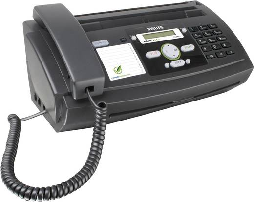 Philips Magic 5 eco Primo Thermotransfer-Faxgerät Sende- /Empfangsspeicher 15 Seiten