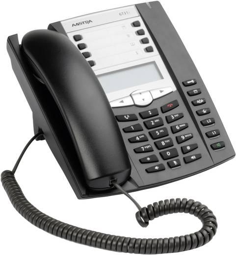 Systemtelefon,VoIP Aastra 6731i Freisprechen Beleuchtetes Display Schwarz, Silber