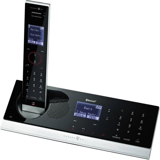 Telekom Sinus A602 Touch schnurloses analog Design Telefon (Touchpanel, Bluetooth, Anrufbeantworter, beleuchtetes Displa