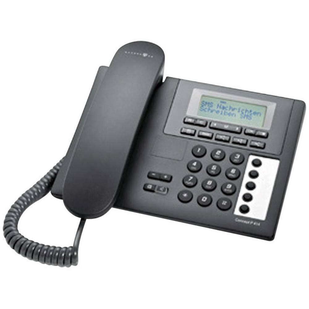 telekom concept p414 schnurgebundenes telefon analog freisprechen schwarz im conrad online shop