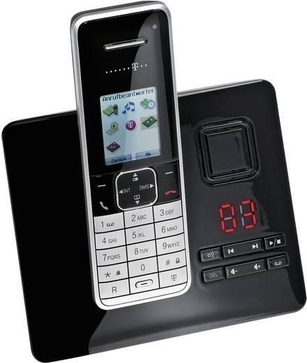 Schnurloses Telefon ISDN Telekom Sinus A503i Anrufbeantworter Farbdisplay Schwarz, Silber