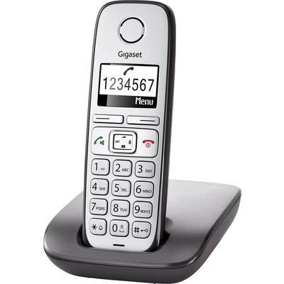 Gigaset E310 Schnurloses Seniorentelefon Freisprechen Beleuchtetes Display Silber, Anthraz Preisvergleich