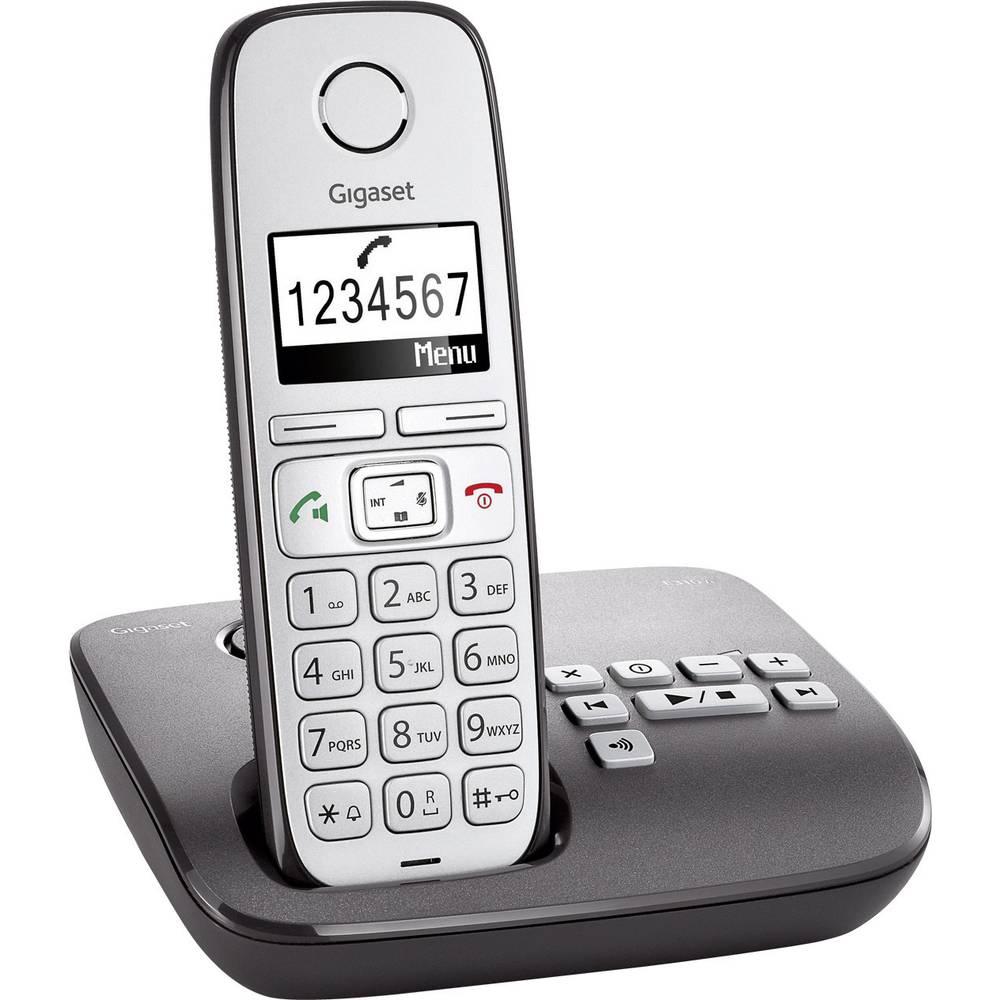 T l phone sans fil pour s niors gigaset e310a r pondeur - Telephone sans fil avec repondeur pour senior ...