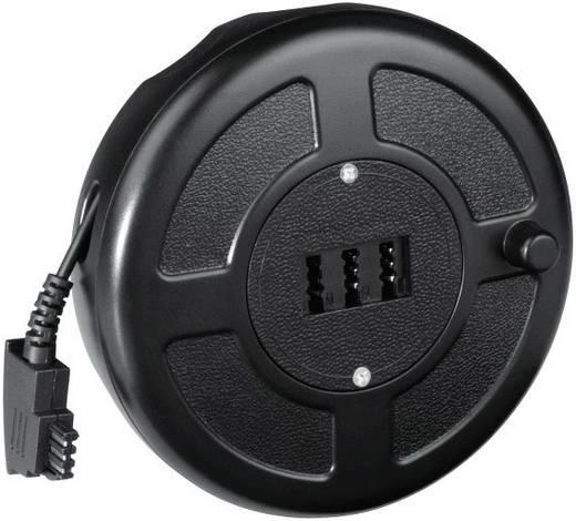 Hama Telefon (analog) Kabeltrommel [1x TAE-F-Stecker - 1x TAE-NFN-Buchse] 15 m Schwarz