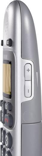 Schnurgebundenes Seniorentelefon Amplicomms BigTel 480 Combo inkl. Mobilteil, Anrufbeantworter Beleuchtetes Display Silb