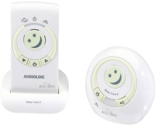 Babyphone Digital Audioline 594180 Baby Care 6 Eco 1.8 GHz