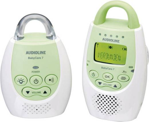 Audioline Baby Care 7 906054 Babyphone Digital 1.9 GHz
