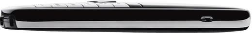 Schnurloses Telefon analog Gigaset SL400 Headsetanschluss, Bluetooth, Babyphone Schwarz, Silber