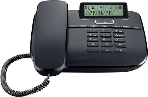 schnurgebundenes telefon analog gigaset da610 freisprechen matt schwarz kaufen. Black Bedroom Furniture Sets. Home Design Ideas