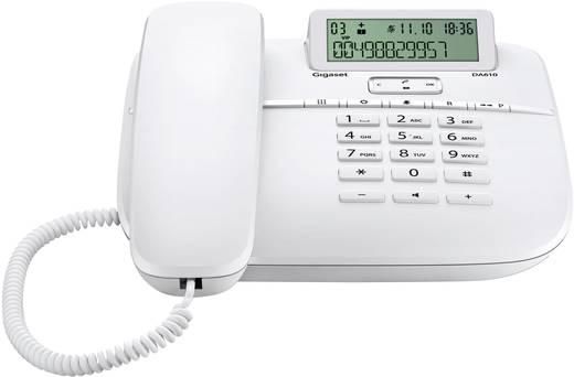 Gigaset DA610 Schnurgebundenes Telefon, analog Freisprechen Matt Weiß